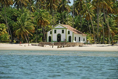 Praia Photograph - Brazil, Pernambuco, Praia Dos by Anthony Asael