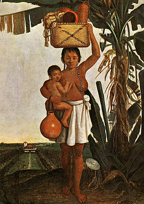 Loincloth Painting - Brazil Tupinamba Woman by Granger