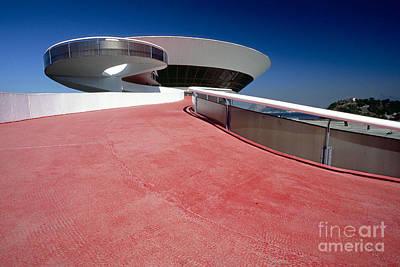 Contemporary Art Museum Photograph - Brazilian Architecture by George Oze