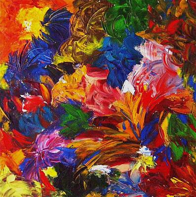 Painting - Brazilian Carnival by Monique's Fine Art