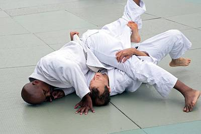 Brazilian Jiu-jitsu Print by Jim West