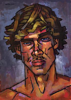 Brazilian Surfer Art Print by Douglas Simonson