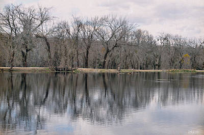 Photograph - Brazos Reflected by Teresa Blanton