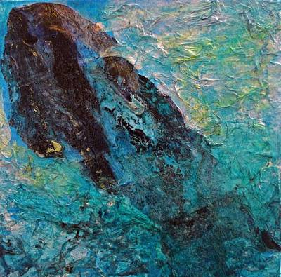 Pour Mixed Media - Breach by Diane Maley