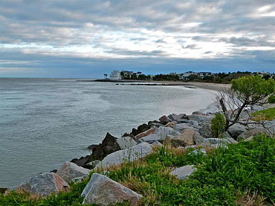 Photograph - Breach Inlet by Jean Wright