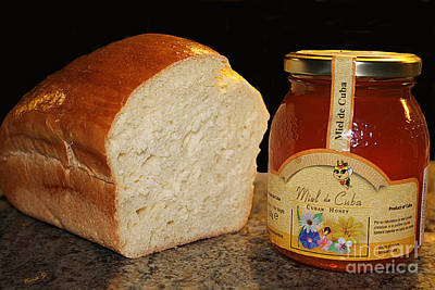 Photograph - Bread And Honey For The Holiday by Nina Silver