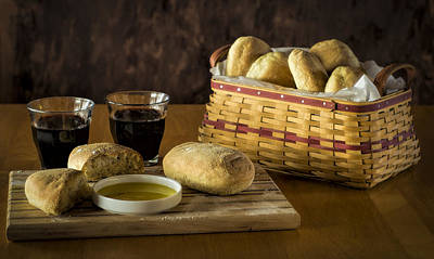 Photograph - Bread And Wine by Wayne Meyer