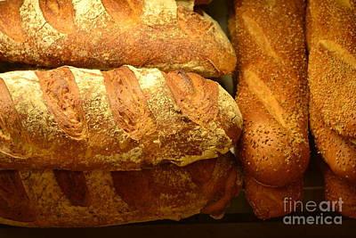 Photograph - Bread by Miriam Danar