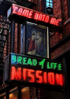 Photograph - Bread Of Life Mission by Benjamin Yeager