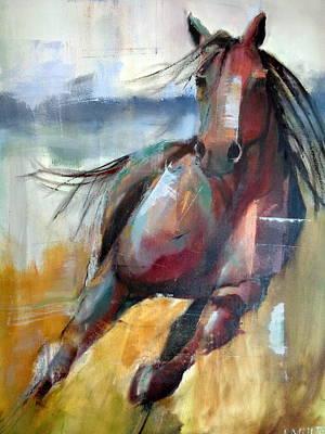 Free Painting - Break Free by Lisa Moore