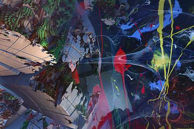 Break Through Art Print by Roger Pearce