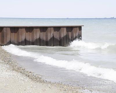Photograph - Break Wall by Ronald Grogan