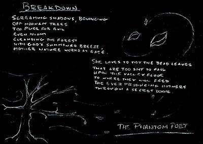 Drawing - Breakdown by Guy Pettingell