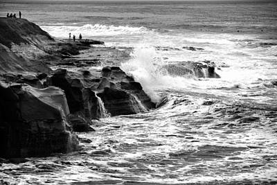 Shack Photograph - Breakers by Peter Tellone