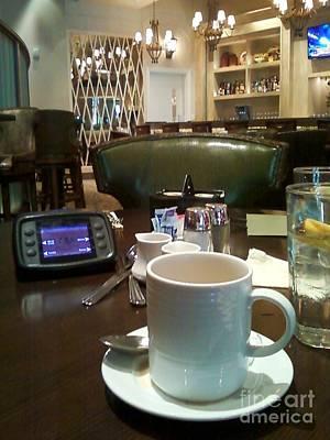 Digital Art - Breakfast At Paula Dean's Restaurant by Angelia Hodges Clay