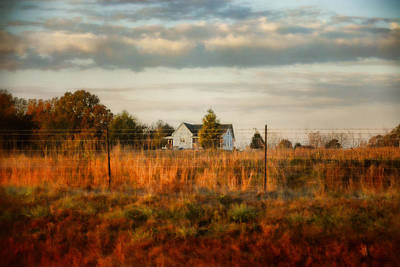 Autumn Scene Photograph - Breakfast At The Farm House by Jai Johnson