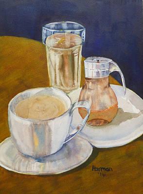 Breakfast For One Original by Melanie Harman