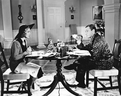 Glenda Photograph - Breakfast For Two, From Left Glenda by Everett