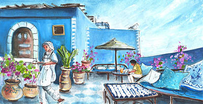 Painting - Breakfast In Essaouira by Miki De Goodaboom