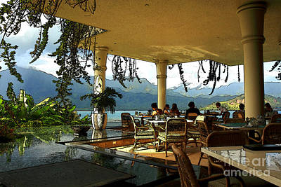 Photograph - Breakfast In Hanalei by James Eddy