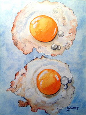 Painting - Breakfast Is Ready by Carol Grimes