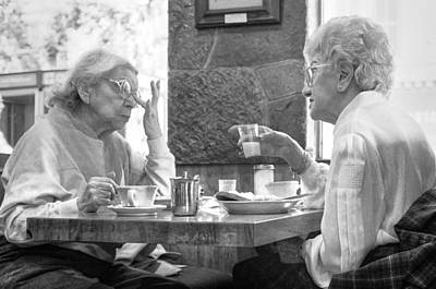 Photograph - Breakfast Ladies by Dave Beckerman