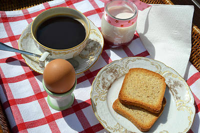 Photograph - Breakfast On A Table by Blanchi Costela