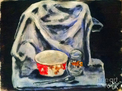 Painting - Breakfastware Still Life by Charlie Harris