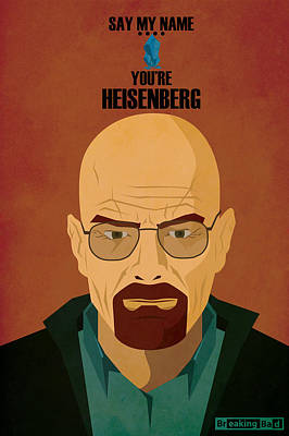Crystal Meth Painting - Breaking Bad  by FHT Designs