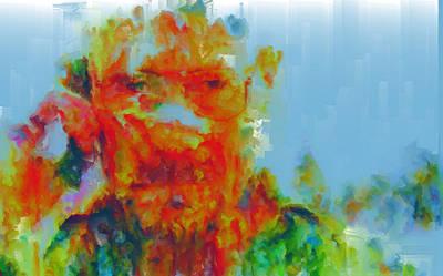 Dea Painting - Breaking Bad Paint Splatter by Brian Reaves