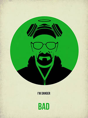 Walter Digital Art - Breaking Bad Poster 2 by Naxart Studio