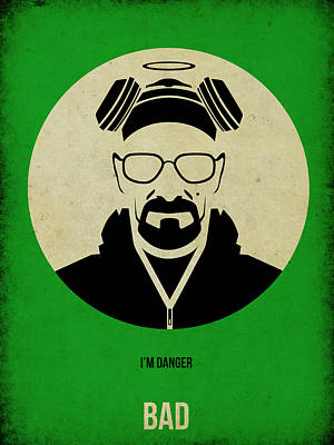 Heisenberg Digital Art - Breaking Bad Poster by Naxart Studio