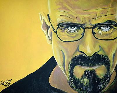 Breaking Bad Painting - Breaking Bad by Tom Carlton