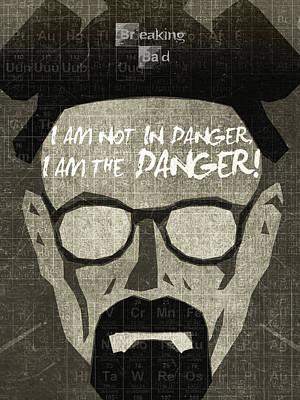 Breaking Bad Walter White Poster Print by Albert Lewis