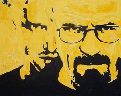 Breaking Bad Yellow Print by Marisela Mungia