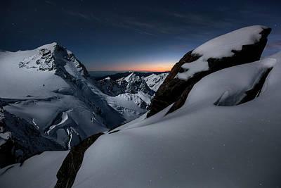 New Zealand Photograph - Breaking Dawn by Yan Zhang