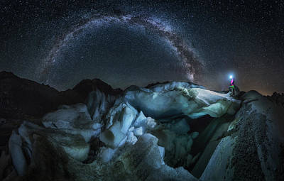 Milky Way Wall Art - Photograph - Breaking Eons by Dr. Nicholas Roemmelt