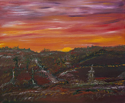 Painting - Breaking Light by James Bryron Love