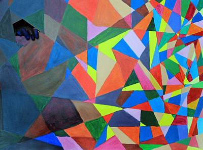 Hands Mixed Media - Breaking Out by Alyssa Zuercher