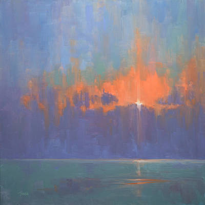 Painting - Breaking Sky I by Timon Sloane