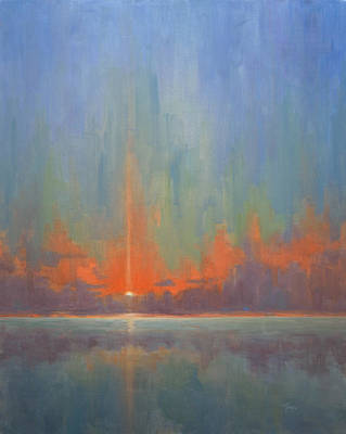 Painting - Breaking Sky II by Timon Sloane
