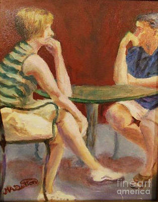 Painting - Breaking Up Is Hard To Do by Marcia Dutton