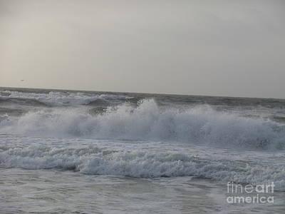 Photograph - Breaking Waves by Deborah DeLaBarre