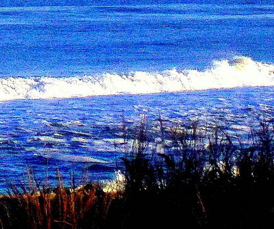 Photograph - Breaking Waves by Pamela Hyde Wilson