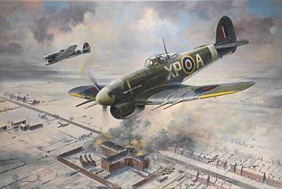 Painting - Breakout At Amiens by Colin Parker