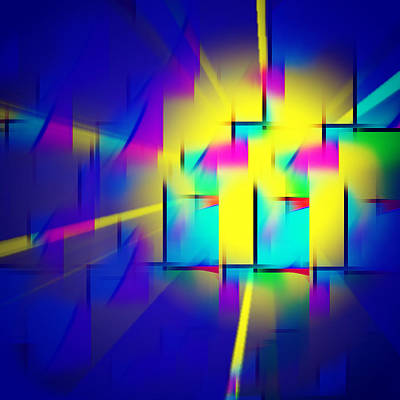 Modernity Digital Art - Breakthrough  by Aurelio Zucco