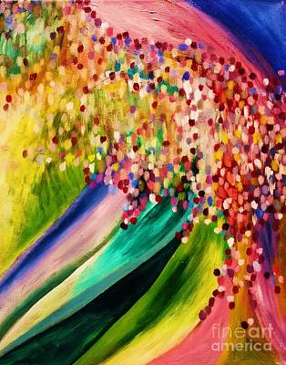 Answer True Painting - Breakthrough Is Coming by Esther Rowden