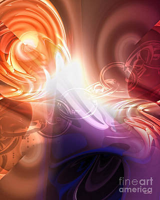 Thoughts Digital Art - Breakthrough by Mo T