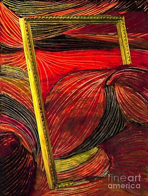 Red Abstract Mixed Media - Breakthrough by Sarah Loft