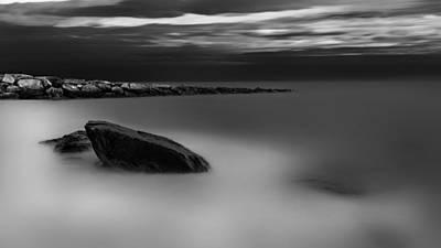 Massachusetts Photograph - Breakwater by Bill Wakeley